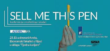 Sell me this pen – konferencija o marketingu i prodaji